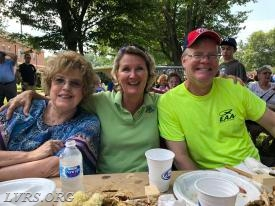 2018 EMS Appreciation Day. Mary, Linda and Ken.