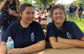 2018 EMS Appreciation Day. Elizabeth and Wendy.