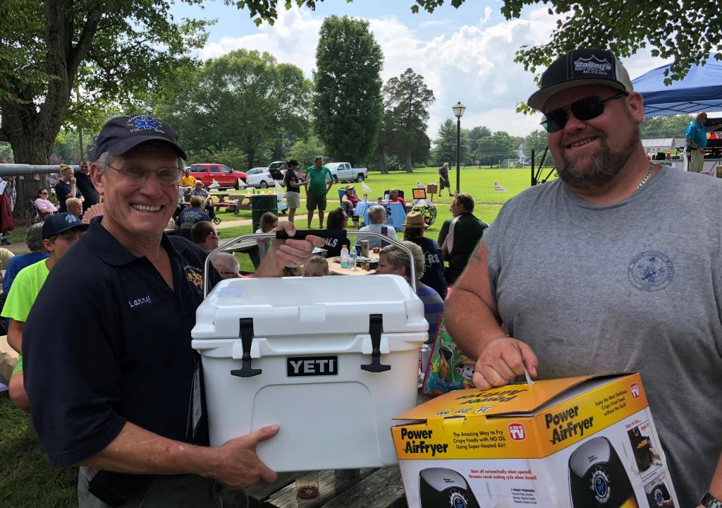 2018 EMS Appreciation Day. Larry and Mark.